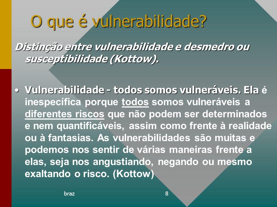 O que é vulnerabilidade