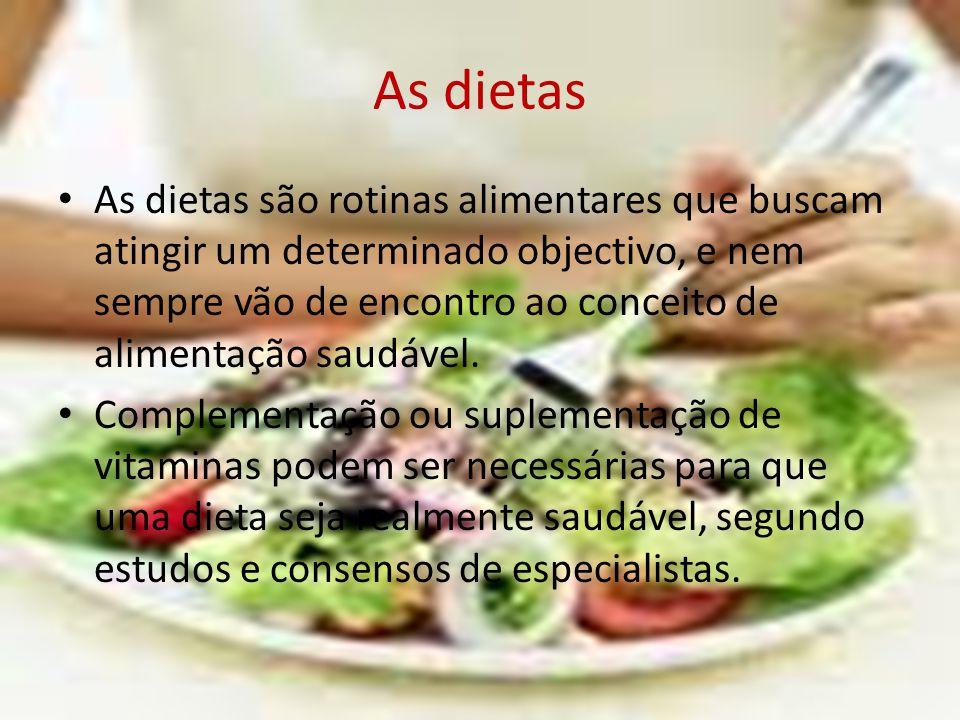 As dietas