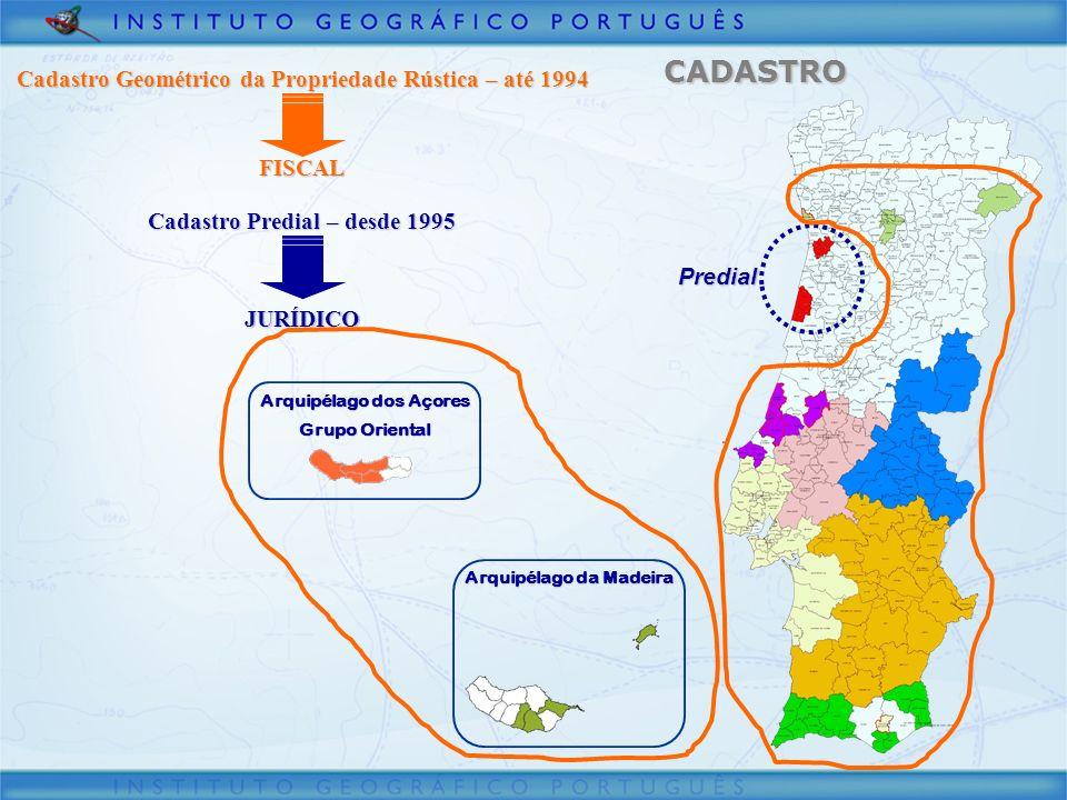 CADASTRO Cadastro Geométrico da Propriedade Rústica – até 1994