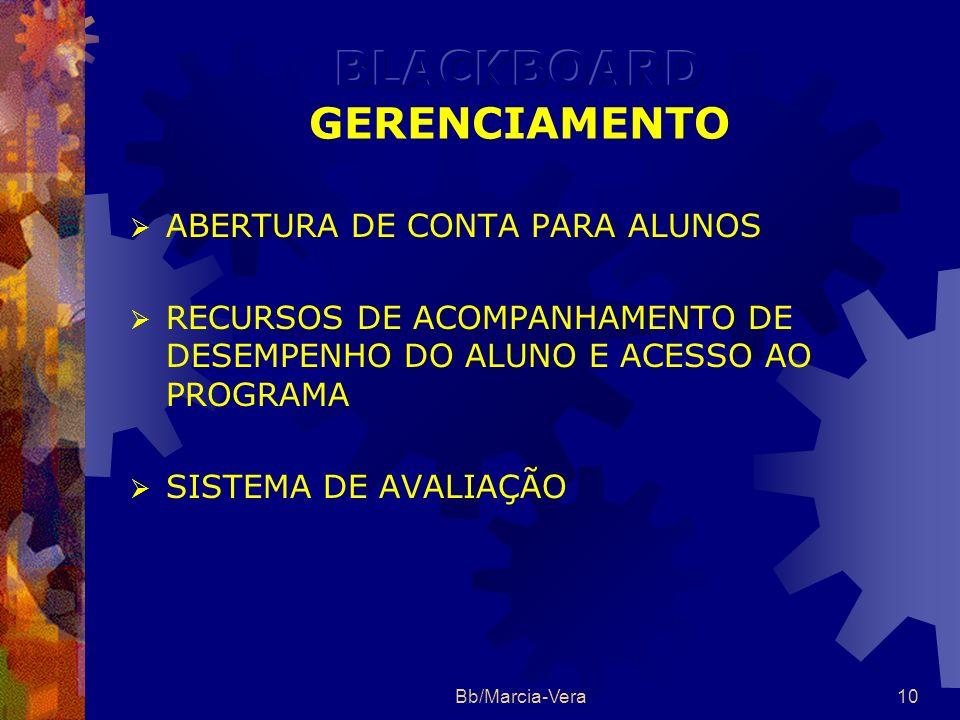 BLACKBOARD GERENCIAMENTO