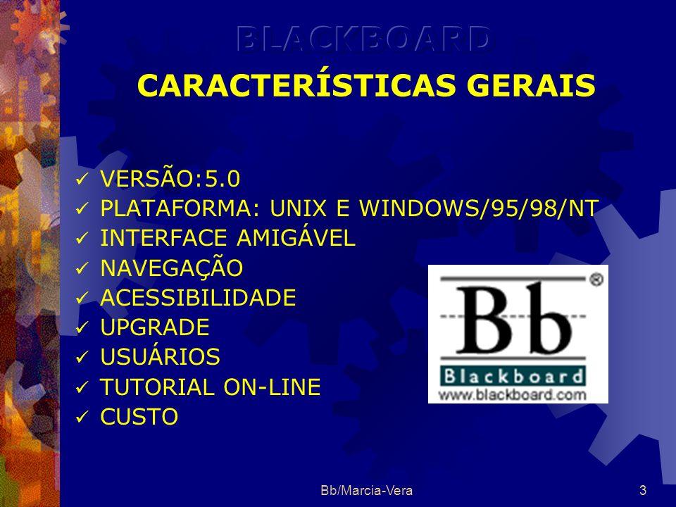 BLACKBOARD CARACTERÍSTICAS GERAIS