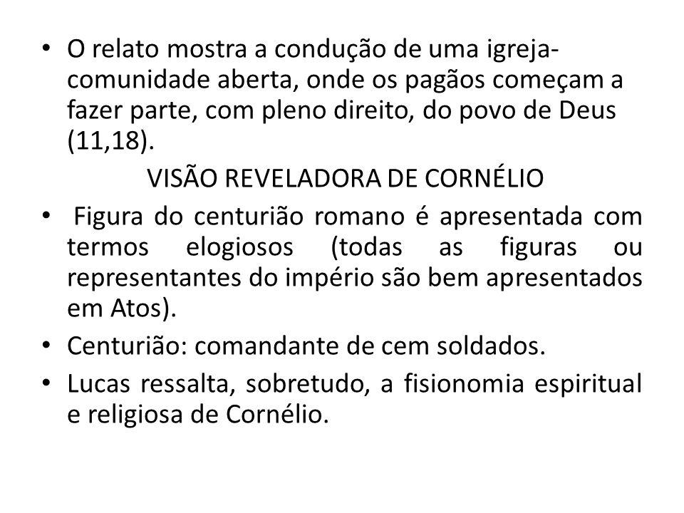 VISÃO REVELADORA DE CORNÉLIO