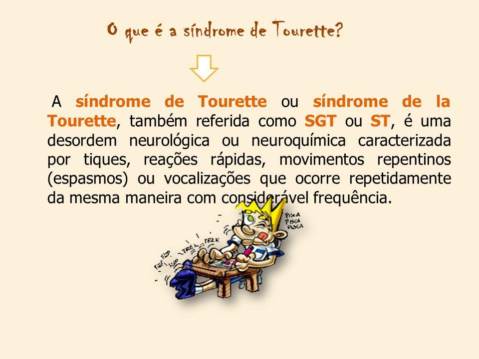 O que é a síndrome de Tourette