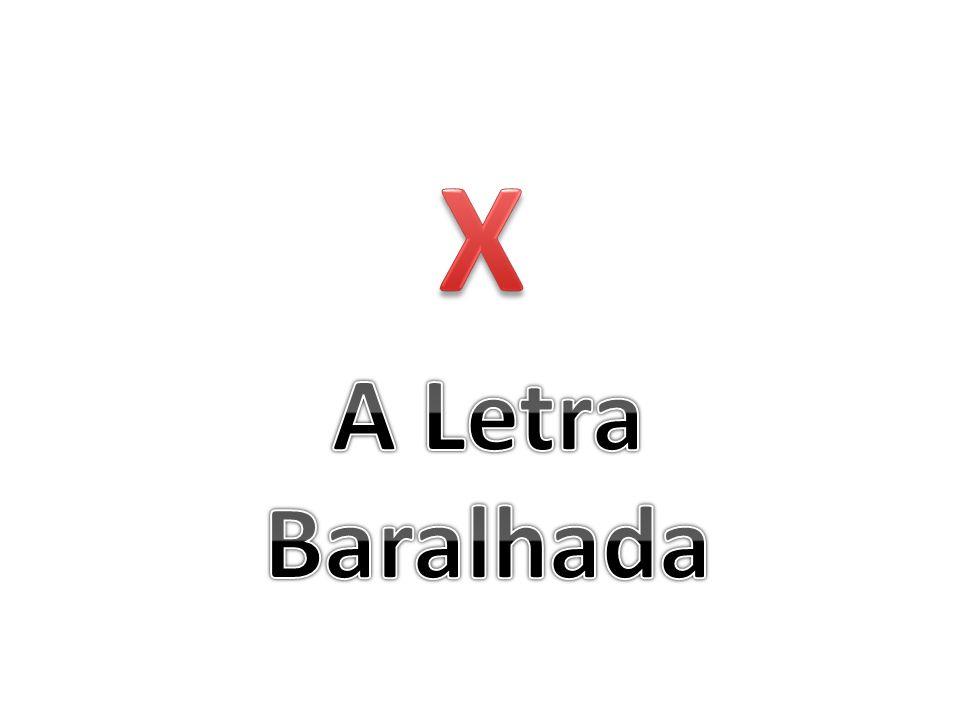 X A Letra Baralhada