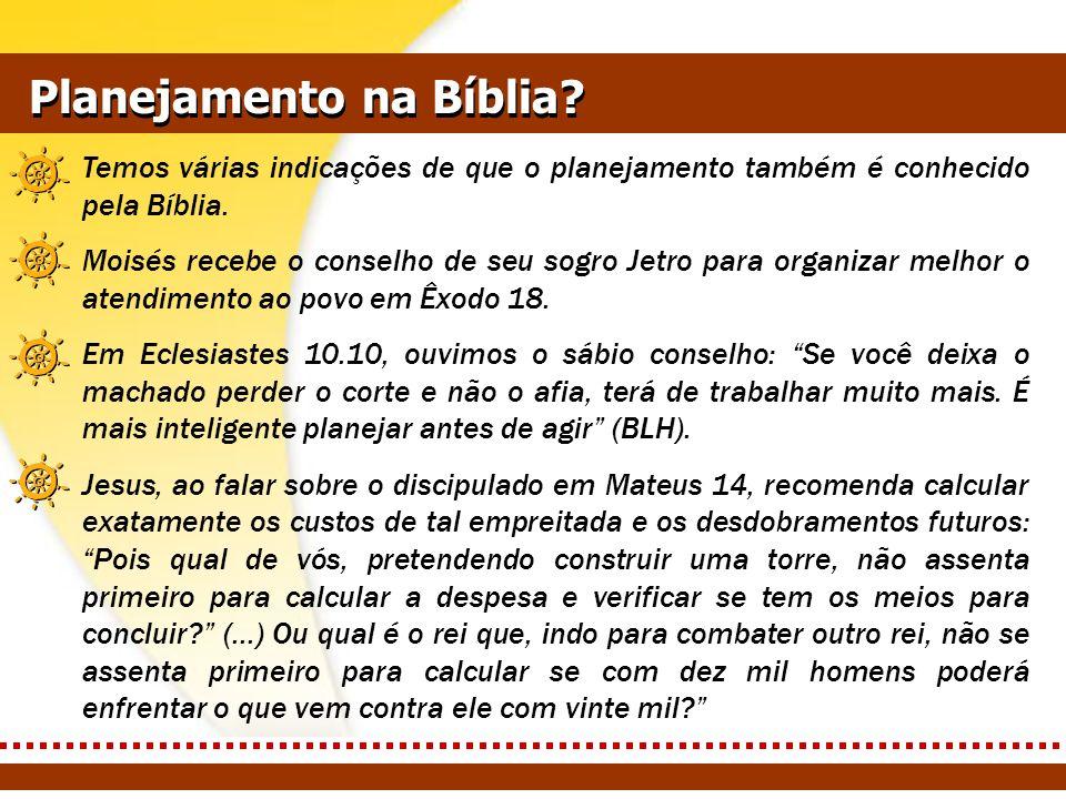 Planejamento na Bíblia