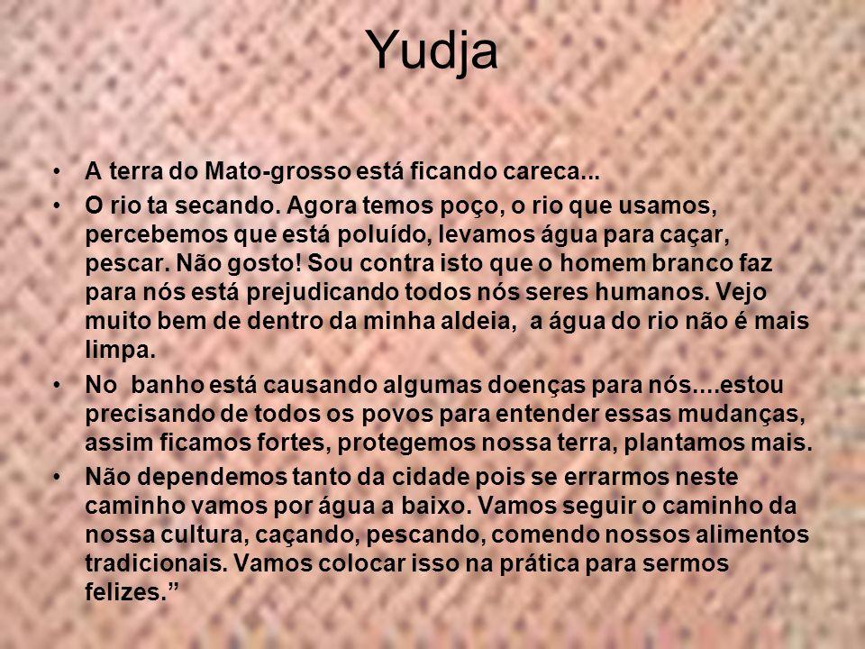 Yudja A terra do Mato-grosso está ficando careca...