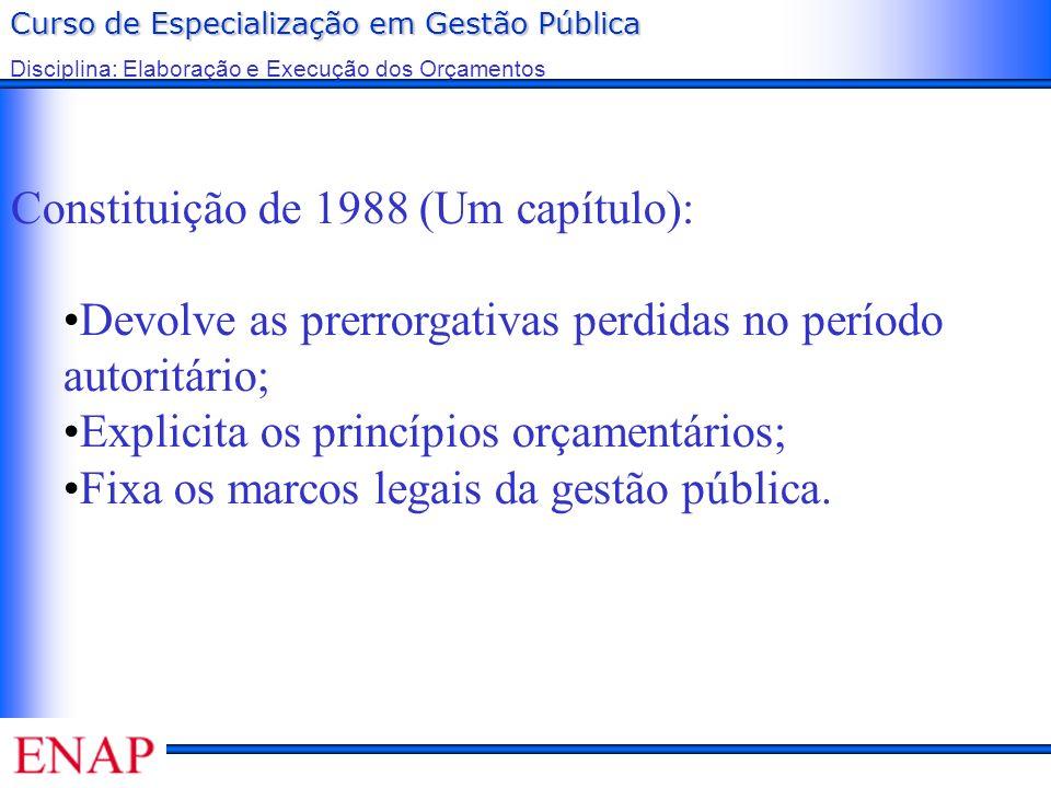 Constituição de 1988 (Um capítulo):