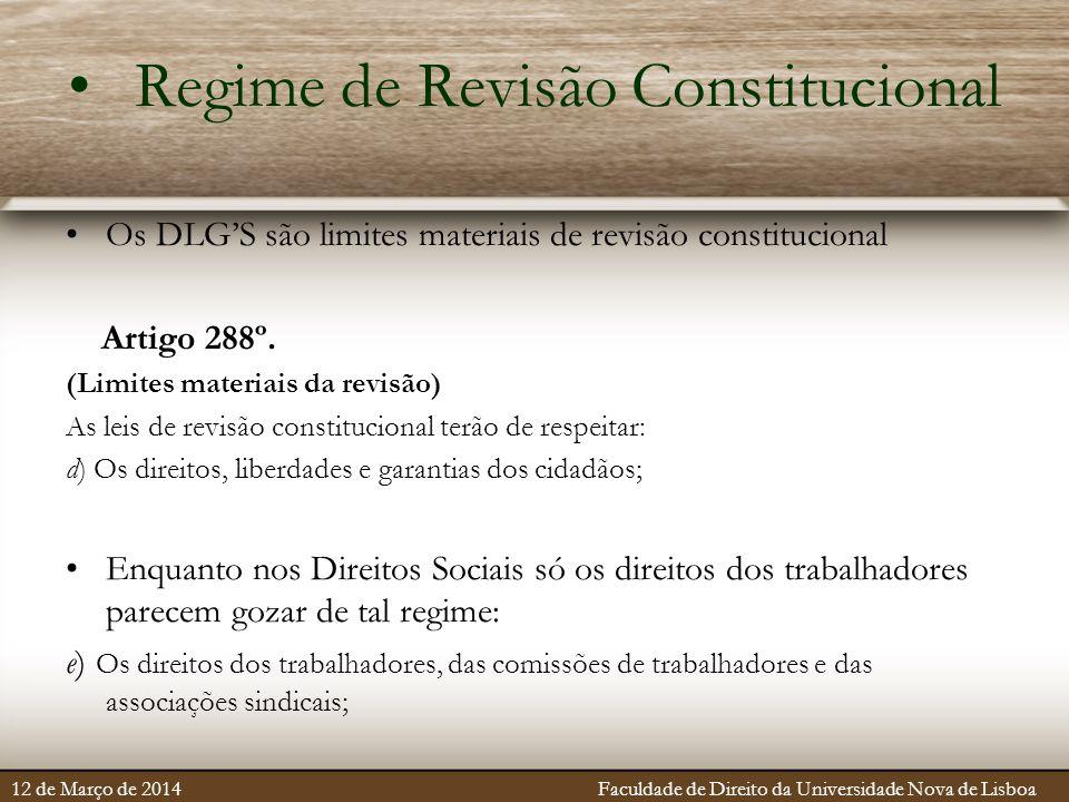 Regime de Revisão Constitucional