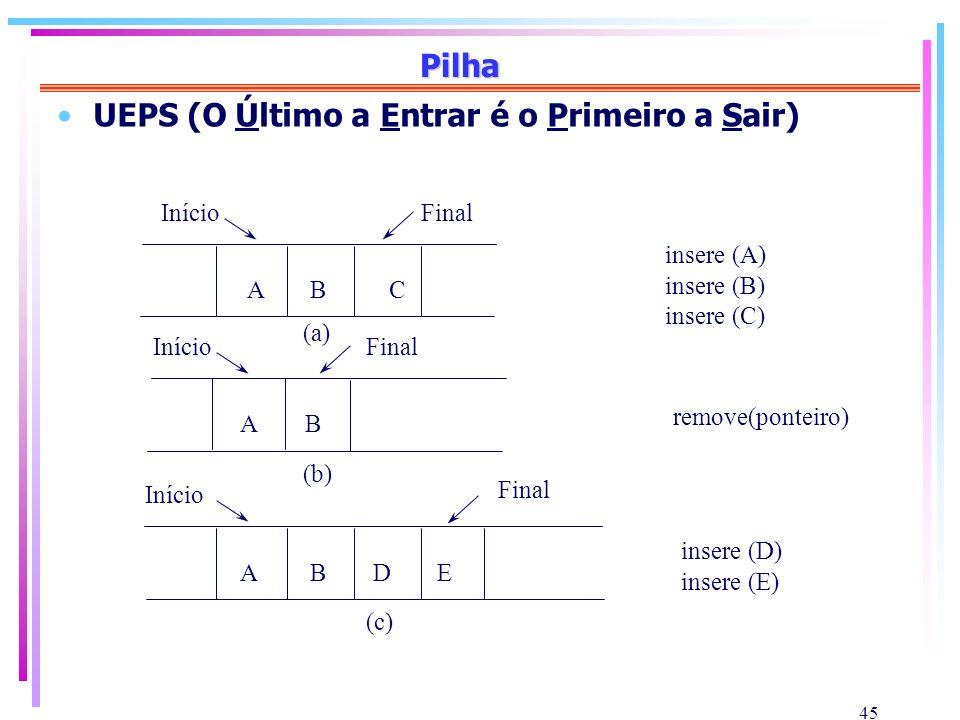 UEPS (O Último a Entrar é o Primeiro a Sair)