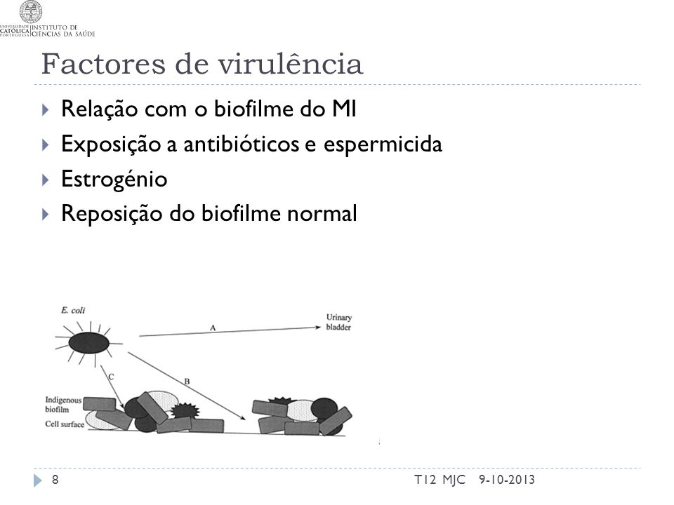 Factores de virulência