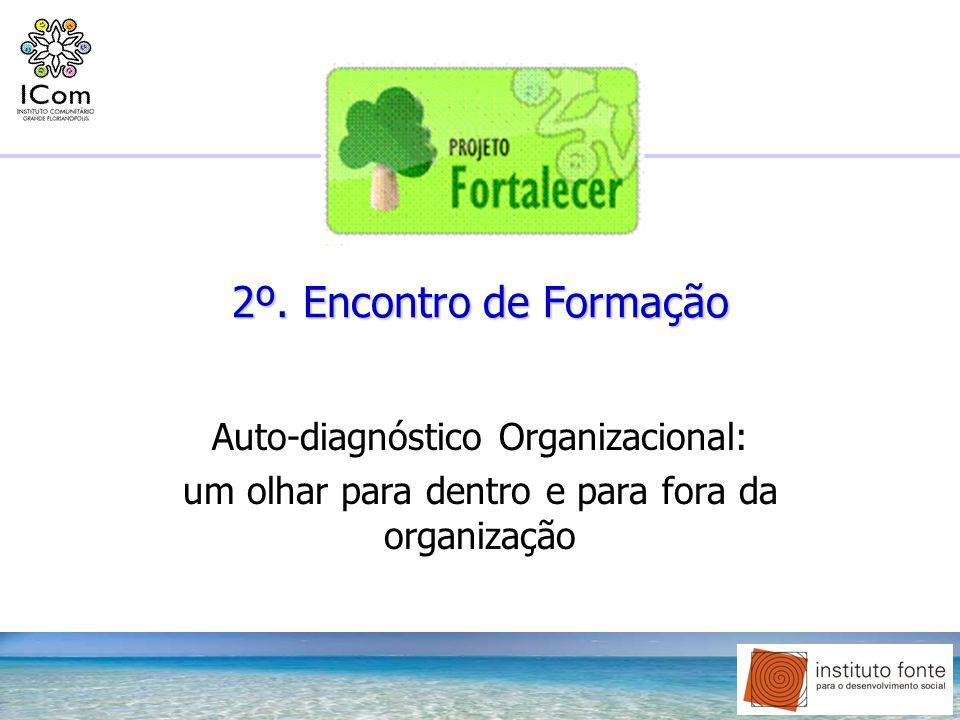 2º. Encontro de Formação Auto-diagnóstico Organizacional: