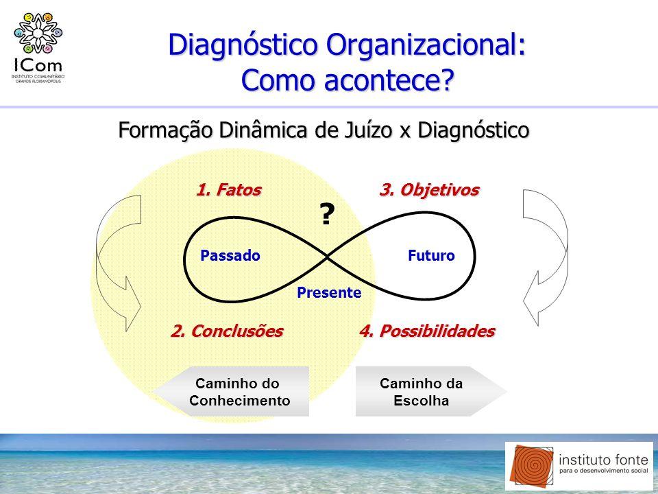 Diagnóstico Organizacional: Como acontece