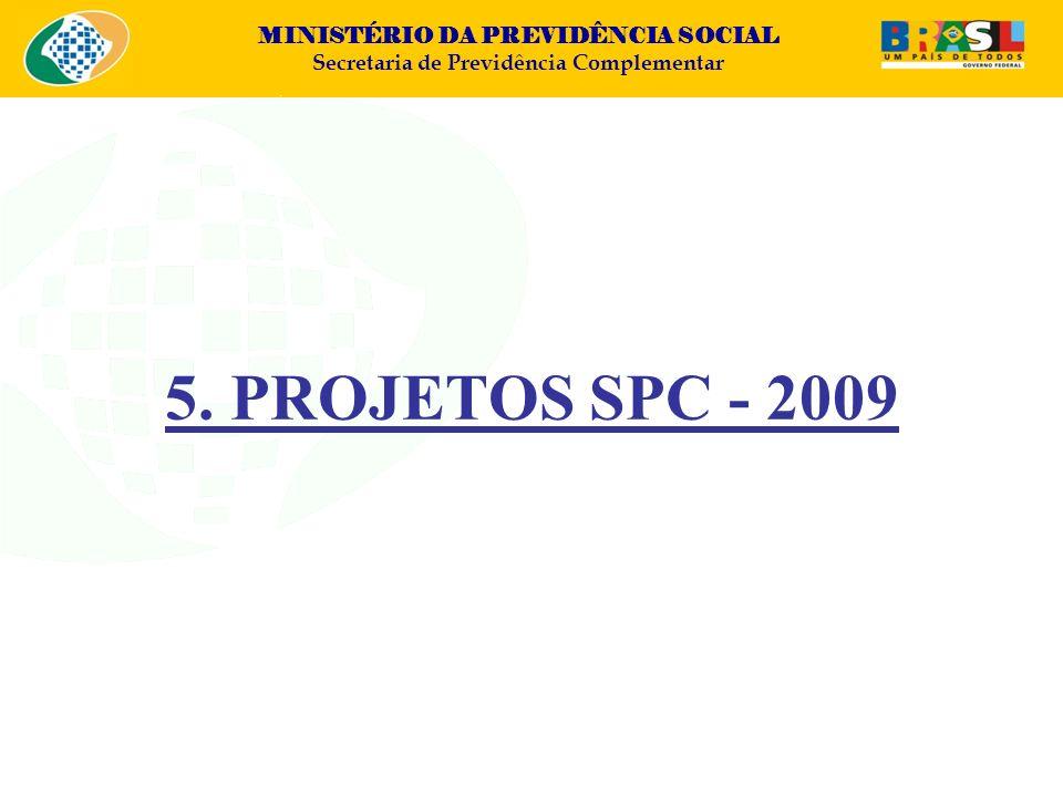5. PROJETOS SPC - 2009