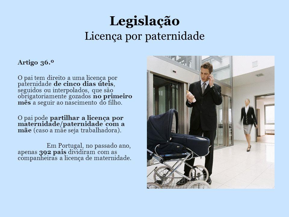Legislação Licença por paternidade