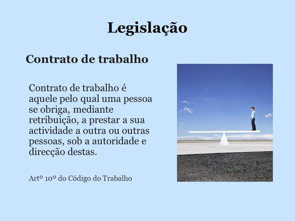 Legislação Contrato de trabalho