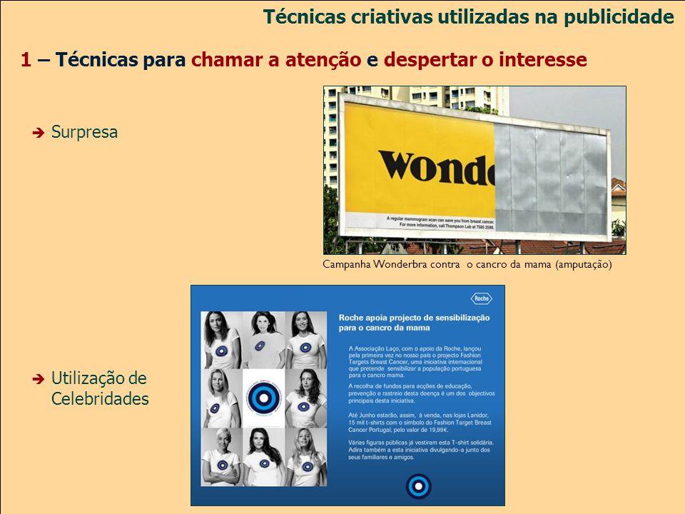 Técnicas criativas utilizadas na publicidade