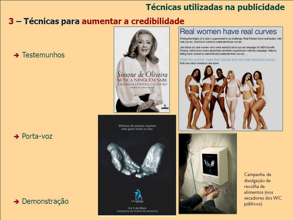 Técnicas utilizadas na publicidade