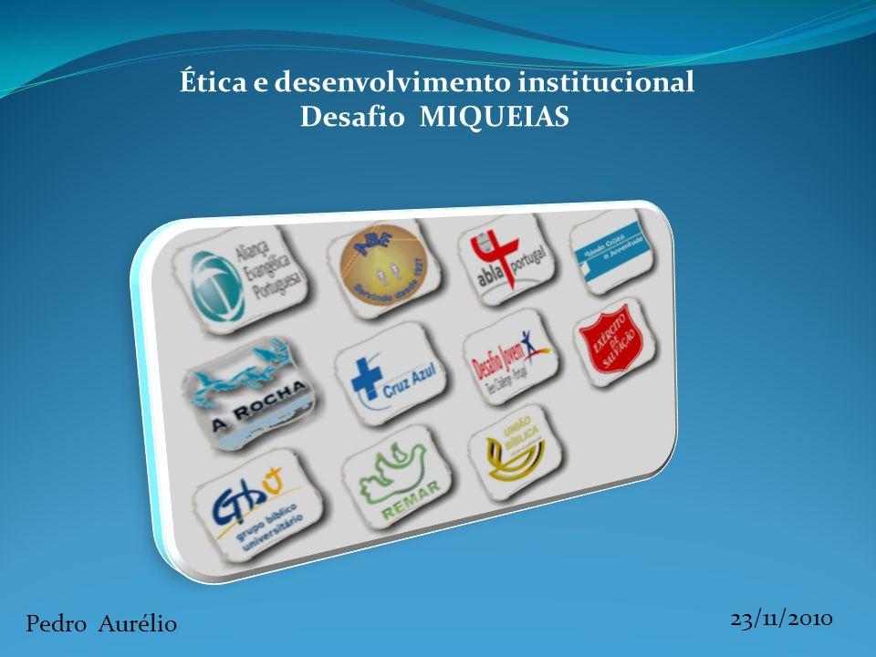Ética e desenvolvimento institucional