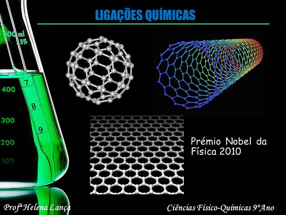 LIGAÇÕES QUÍMICAS Prémio Nobel da Física 2010 Profª Helena Lança