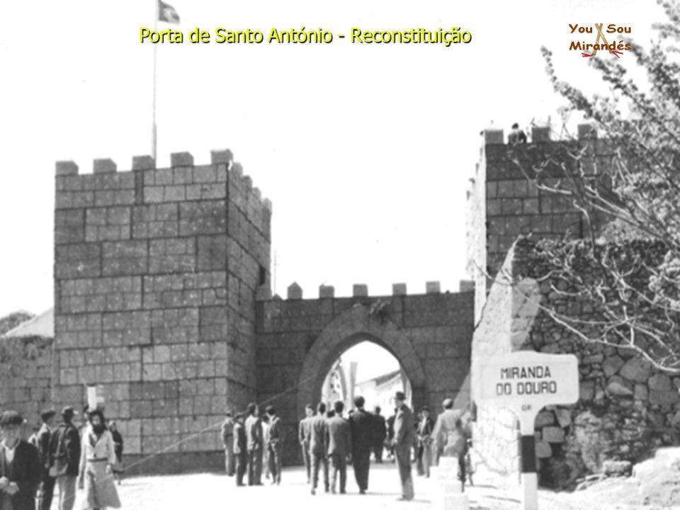Porta de Santo António - Reconstituição