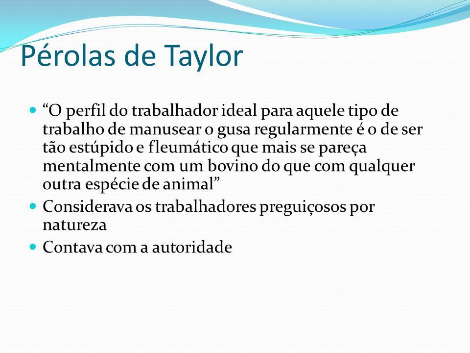 Pérolas de Taylor