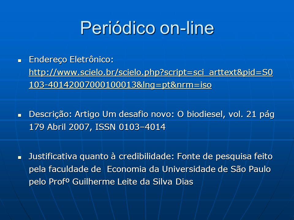 Periódico on-line Endereço Eletrônico: http://www.scielo.br/scielo.php script=sci_arttext&pid=S0103-40142007000100013&lng=pt&nrm=iso.