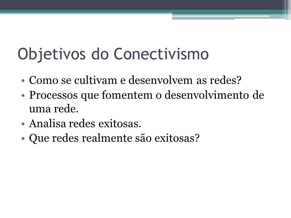 Objetivos do Conectivismo