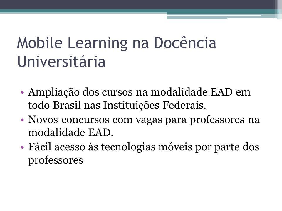 Mobile Learning na Docência Universitária