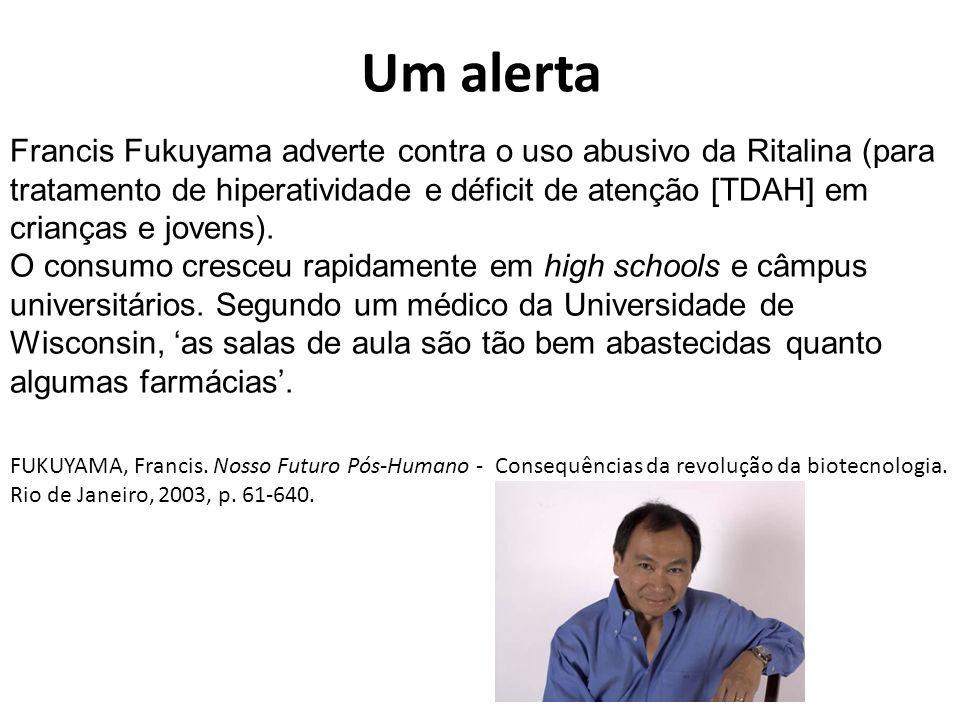 Um alerta