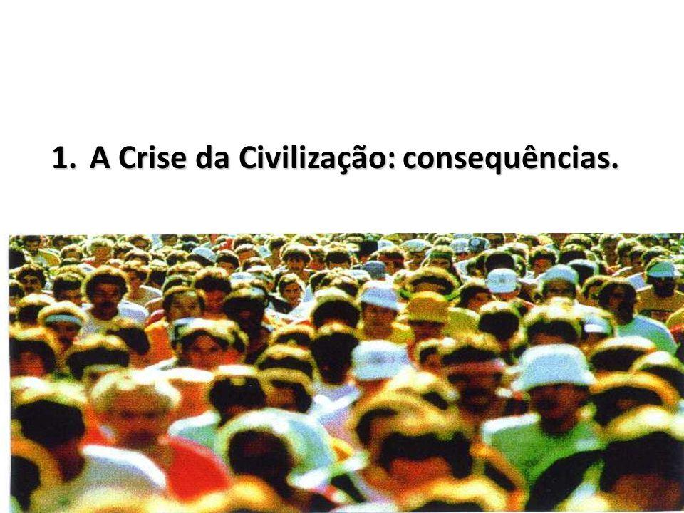 A Crise da Civilização: consequências.