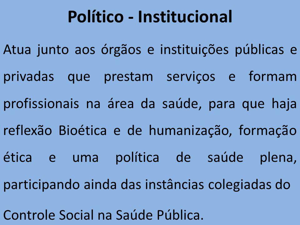 Político - Institucional