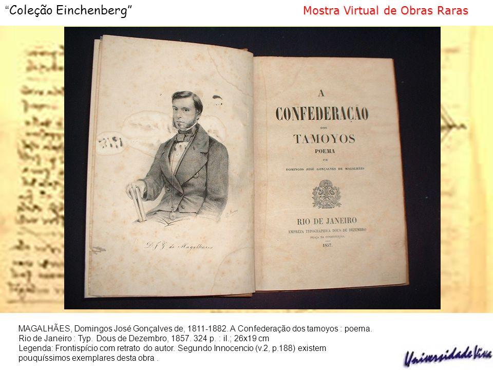 MAGALHÃES, Domingos José Gonçalves de, 1811-1882