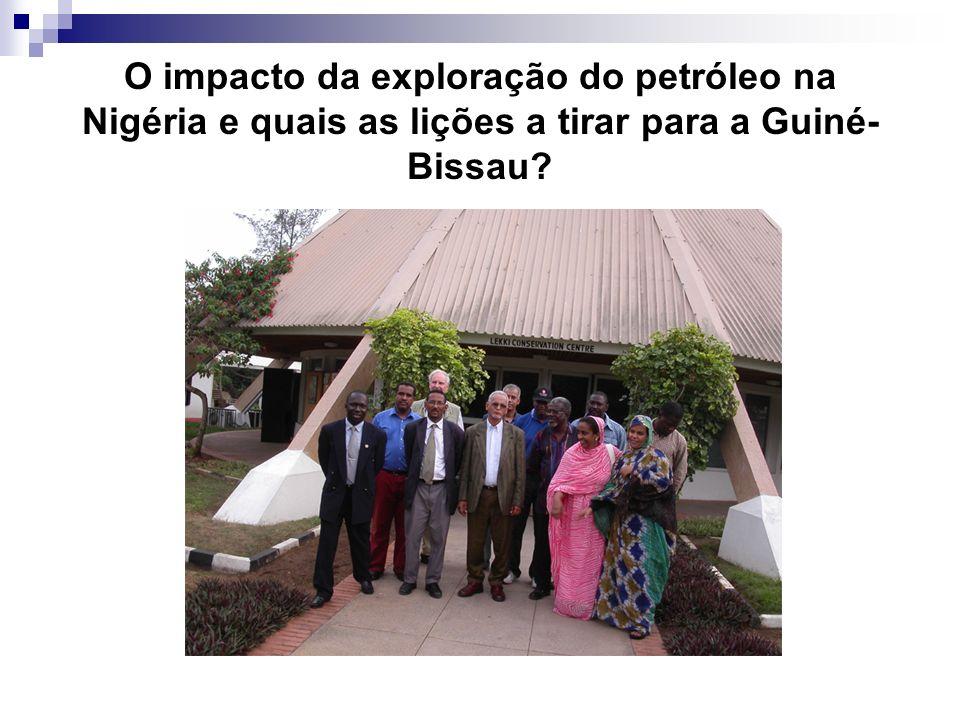 O impacto da exploração do petróleo na Nigéria e quais as lições a tirar para a Guiné-Bissau