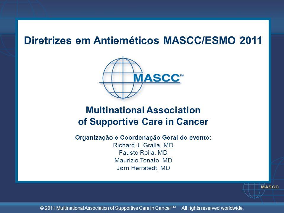 Diretrizes em Antieméticos MASCC/ESMO 2011
