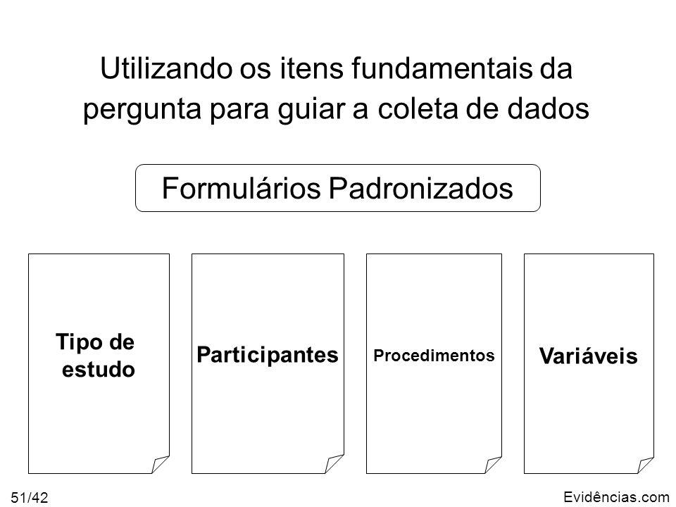 Formulários Padronizados
