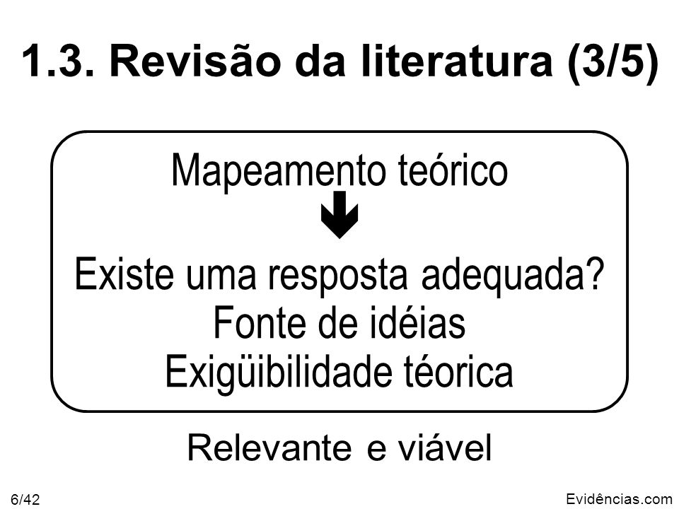 1.3. Revisão da literatura (3/5)