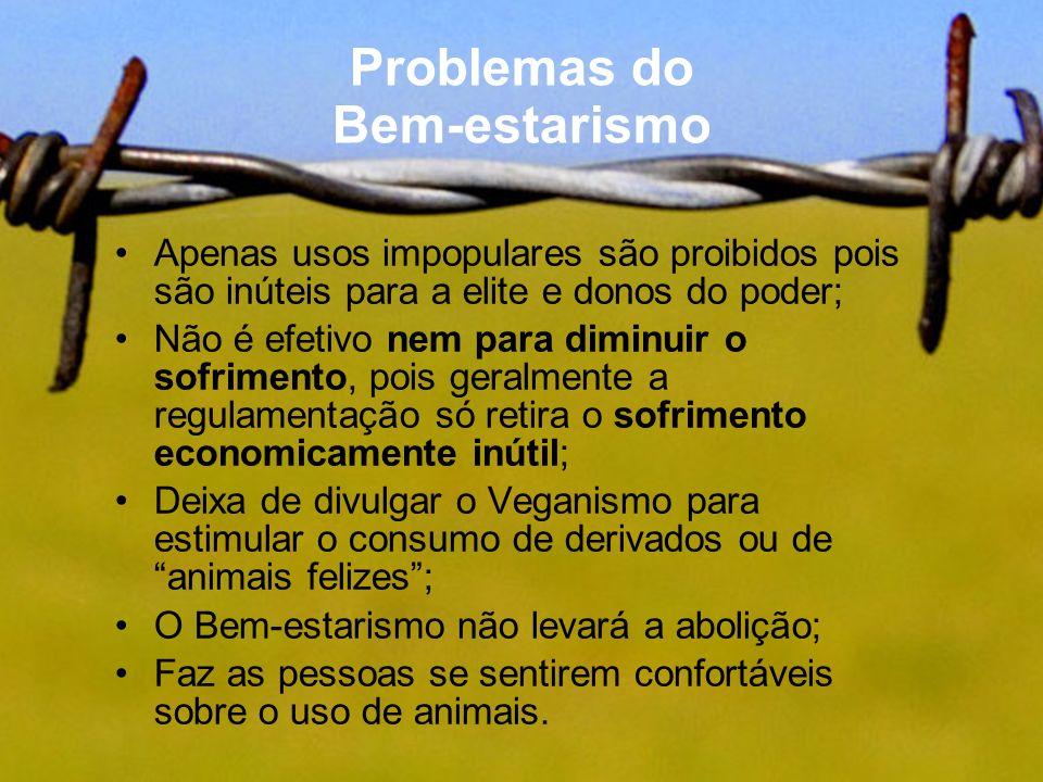 Problemas do Bem-estarismo