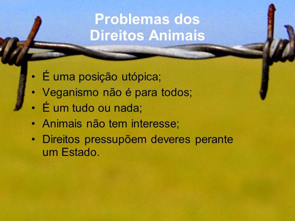 Problemas dos Direitos Animais