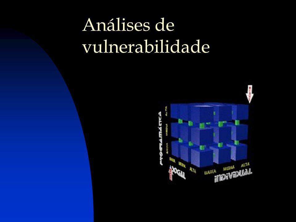 Análises de vulnerabilidade