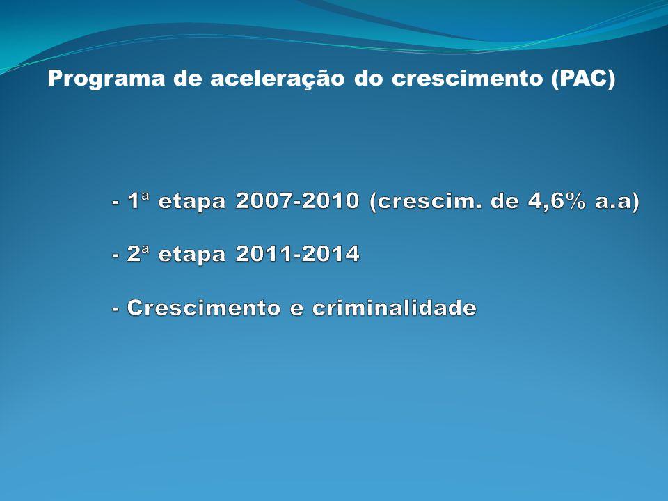 Programa de aceleração do crescimento (PAC)