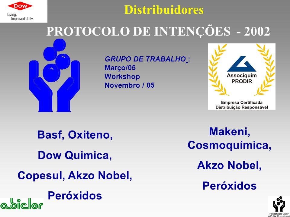 PROTOCOLO DE INTENÇÕES - 2002