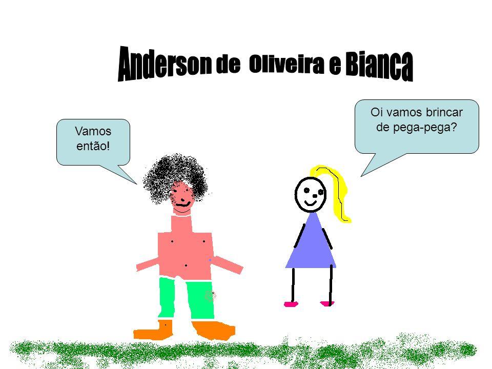 Anderson de Oliveira e Bianca
