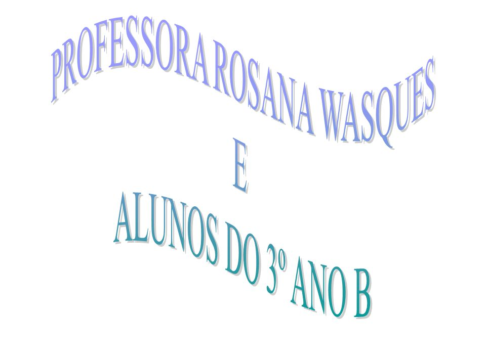 PROFESSORA ROSANA WASQUES
