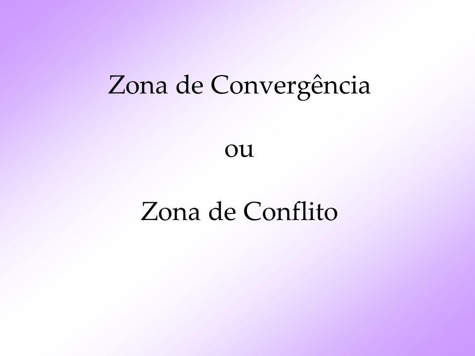 Zona de Convergência ou Zona de Conflito