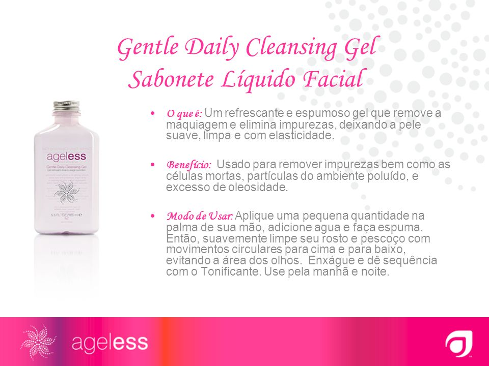 Gentle Daily Cleansing Gel Sabonete Líquido Facial
