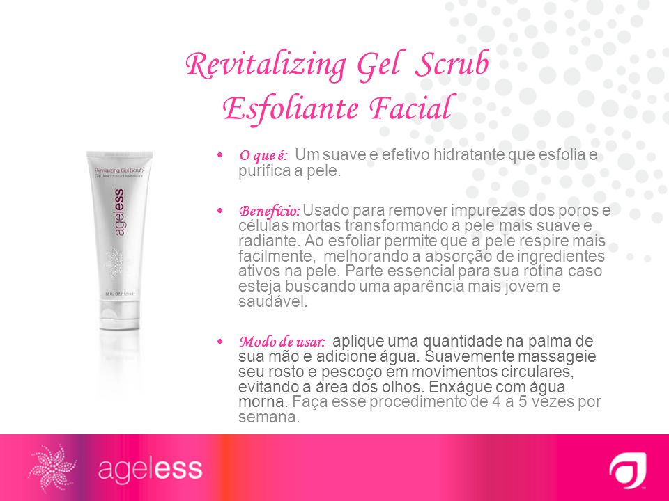 Revitalizing Gel Scrub Esfoliante Facial
