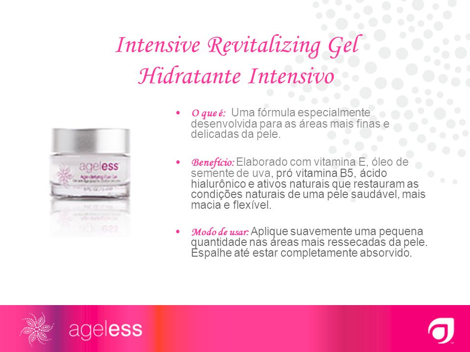 Intensive Revitalizing Gel Hidratante Intensivo