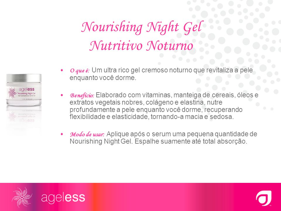 Nourishing Night Gel Nutritivo Noturno