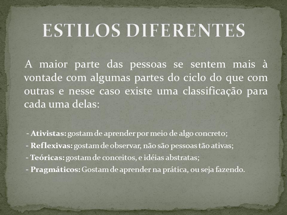ESTILOS DIFERENTES