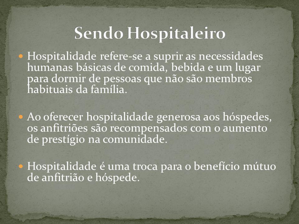 Sendo Hospitaleiro